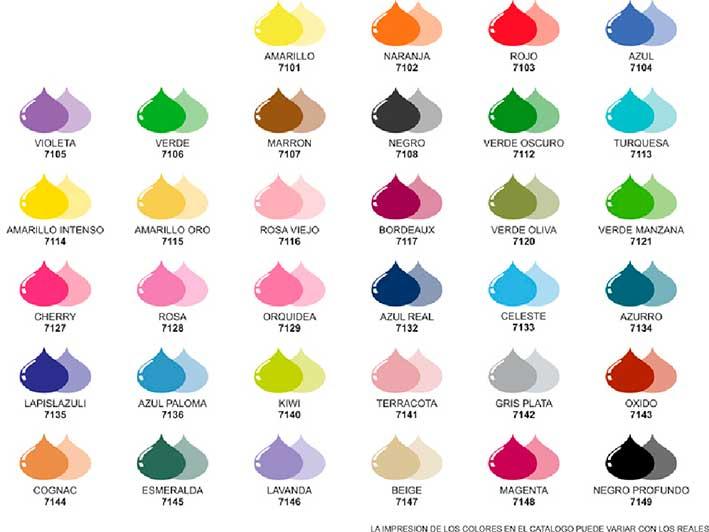 Colores de pintura colores acrilicos colores acrilicos for Ver colores de pintura